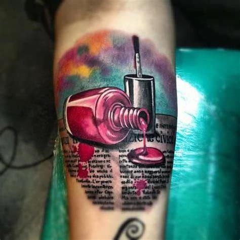 nail polish tattoo ideas  pinterest summer