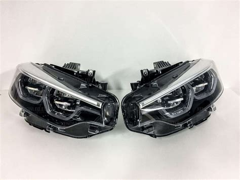bmw m4 headlights bmw 4 m4 m3 series f32 f33 f36 lci 2017 adaptive led