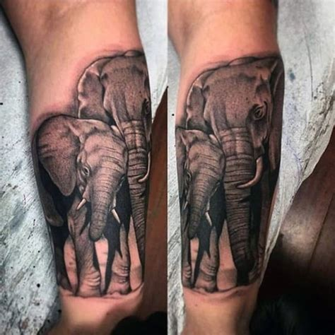 elephant tattoo for men 65 badass elephant ideas for both and