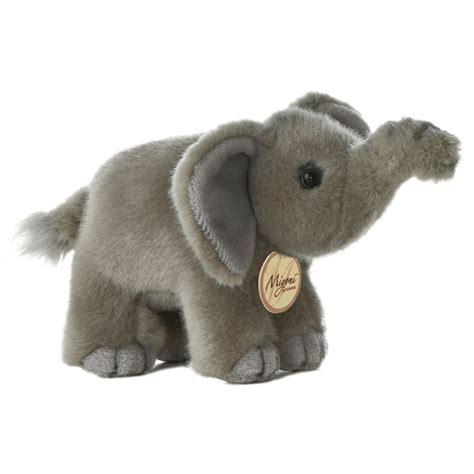 realistic stuffed realistic stuffed elephant 8 inch plush animal by