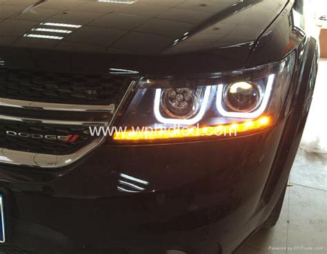 dodge journey led lights 2009 2014 dodge journey jcuv led front headlight led