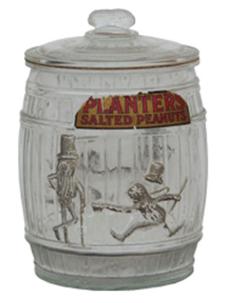 Planters Peanut Jar Value by Planters Salted Peanuts Jar Antique Advertising Value