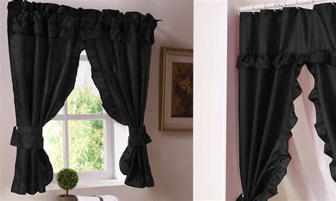 best windows for bathrooms best window treatments for a bathroom overstock com