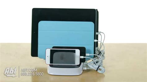 countertop charging station griffin powerdock 5 charging station na388382 overview