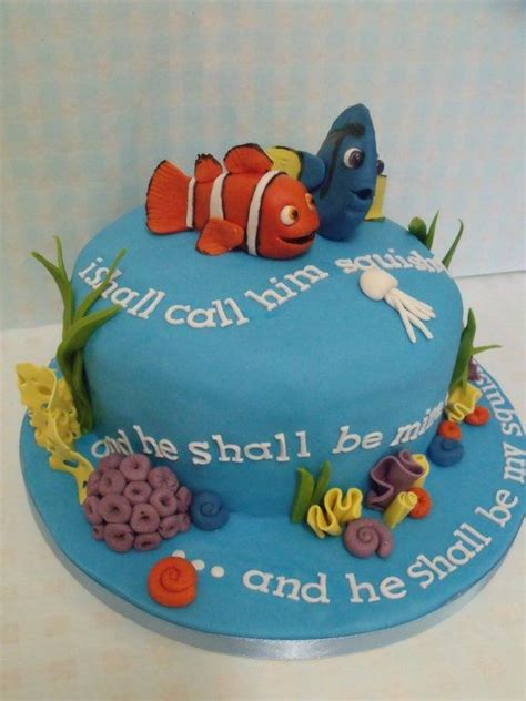 44 best images about finding nemo cakes on pinterest
