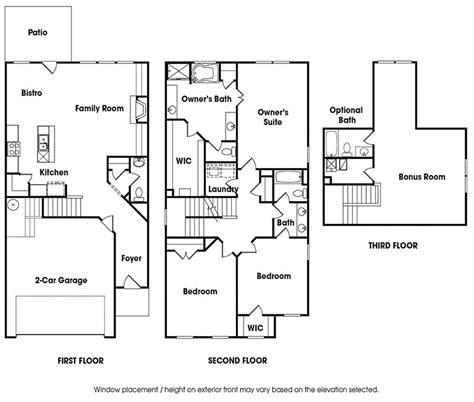 chesapeake floor plan chesapeake plan venture homes
