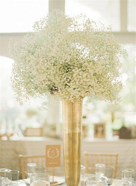 Gold Vase Wedding Centerpiece by Wedding D 233 Cor Suggestions With Centerpieces