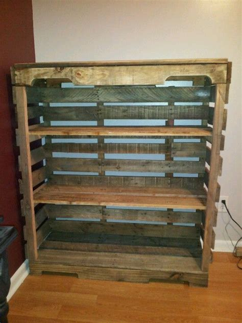 diy pallet pallet shelves and pallets on