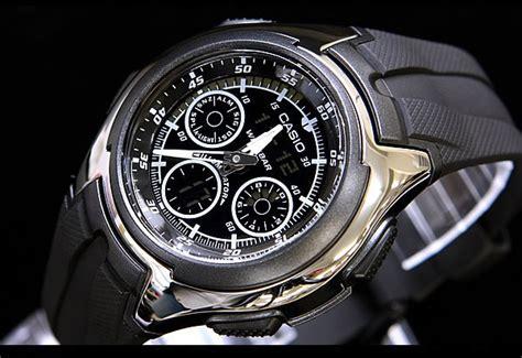 Casio Aq 180w 1b Jam Tangan Pria Resin Black jual casio aq 163 w baru jam tangan terbaru murah