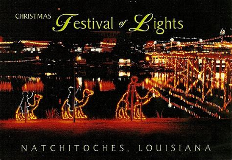 christmas festival of lights natchitoches louisiana