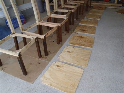how to build dining bench lazy liz on less dining chairs continued