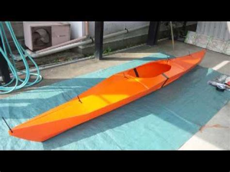 Kayak Origami - oru kayak プラダンでカヤックを作る