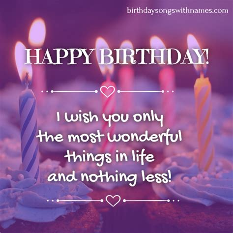 birthday wishes in images and custom birthday songs