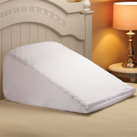 wedge bed pillows wedge cotton pillow case wedge pillow case easy comforts