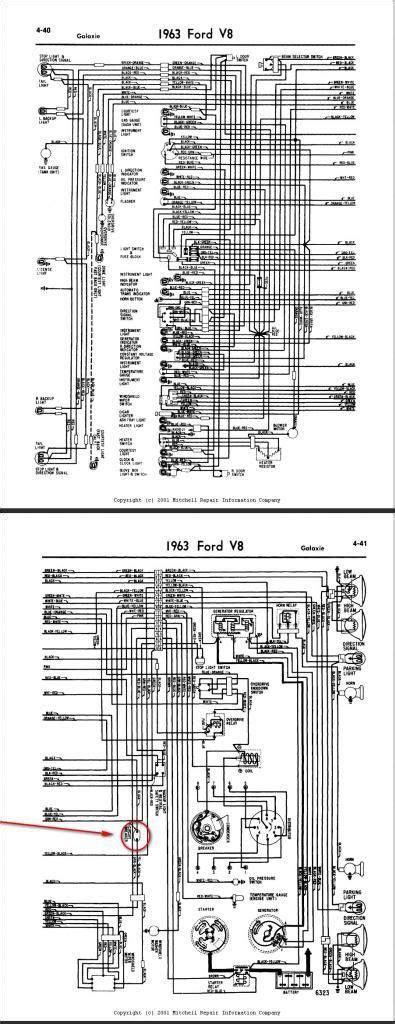 1962 ford galaxie wiring diagram wiring diagram schemes
