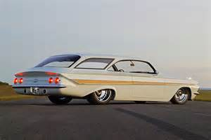 61 impala wagon 600 hp show contender and daily driver
