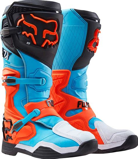 orange motocross boots 2016 fox racing comp 8 boots motocross dirtbike mx atv