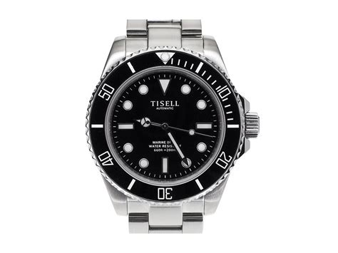 Black Bouverie 40 Mm Watches diver tisell tisell automatic diver black