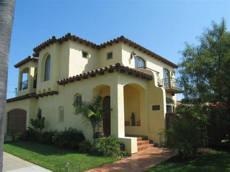 Houses With Big Porches spanish colonial style homes mediterranean exterior