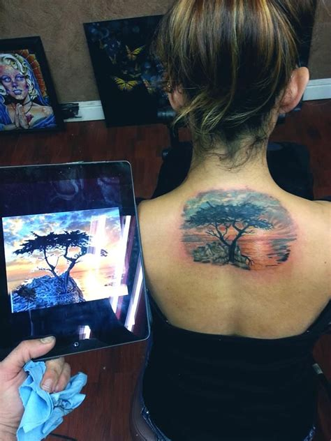 cypress tree tattoo i want a cypress tree in memory of my time in