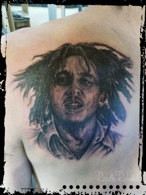bob marley tribal tattoos bob marley on