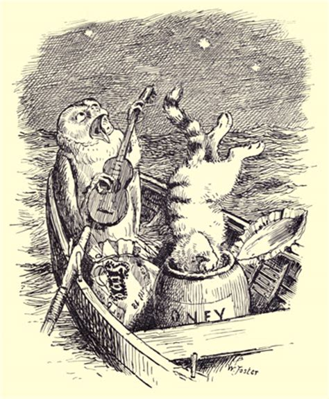 who sang original love boat theme nonsense drolleries by edward lear the owl and the pussy