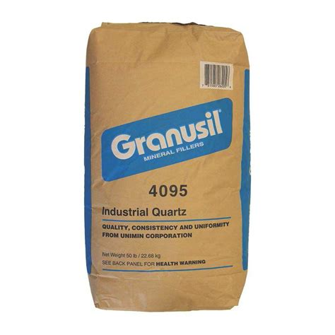 granusil 50 lb 4095 white silica sand 520 50 4095 the