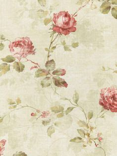 girly beige wallpaper luxury shabby chic vintage pink floral roses trail kitch
