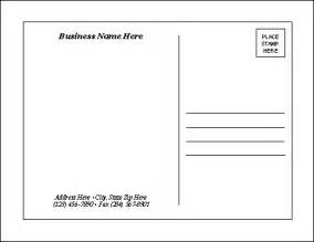 free postcard design template postcard templates