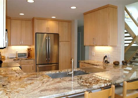natural maple cabinets with granite kitchen with natural maple cabinets search