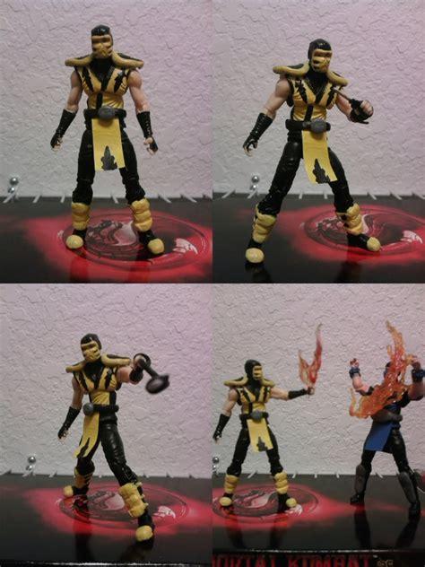 Mortal Kombat Papercraft - mortal kombat 9 scorpion by vash 15 on deviantart
