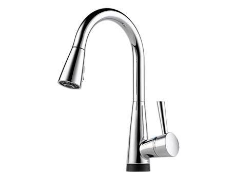 brizo kitchen faucet brizo 64070lf venuto single handle pull kitchen
