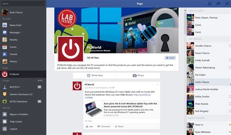 fb windows official facebook app finally available for windows 8 1