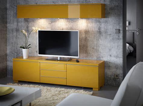 ikea besta canada ein wohnzimmer mit wandregal und tv bank mit schubladen