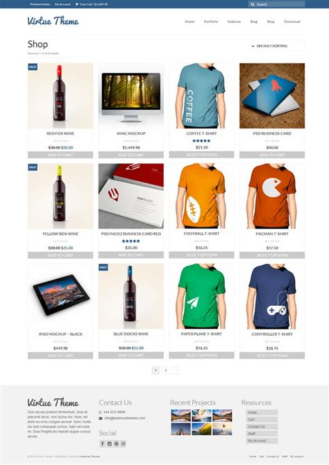 wp themes online store best wordpress ecommerce themes free download