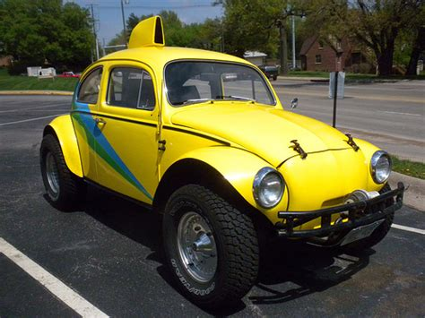 Yellow Baja Bug Flickr Photo