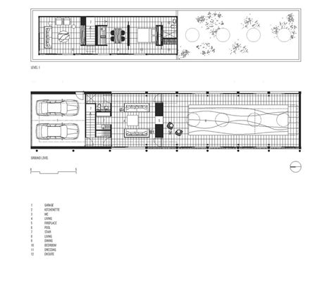 floor plans with pool yarralumla pool house in canberra australia by katon redgen