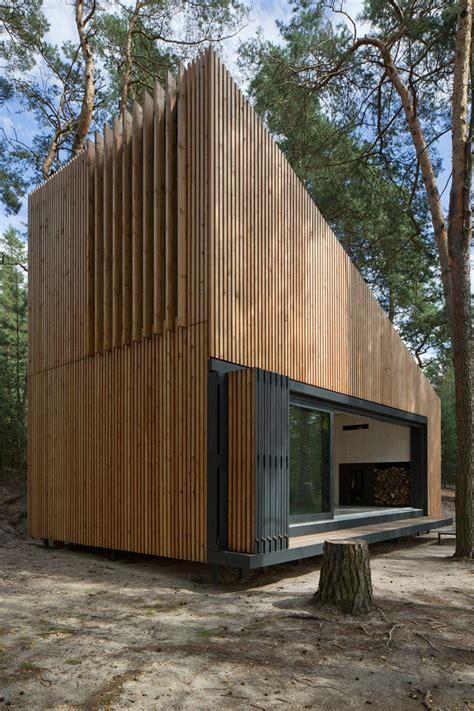 sea arch cabins lake cabin fam architekti