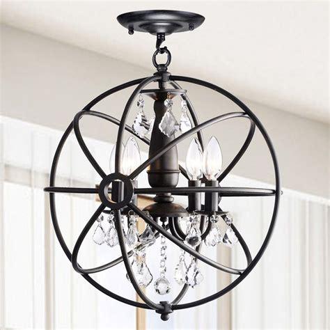 Black Orb Light Fixture 1000 Ideas About Orb Chandelier On