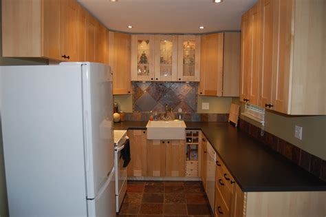 Small U Shaped Kitchen Ideas by Classy Oak Wood Patterns Ikea Kitchen Cabinets With U