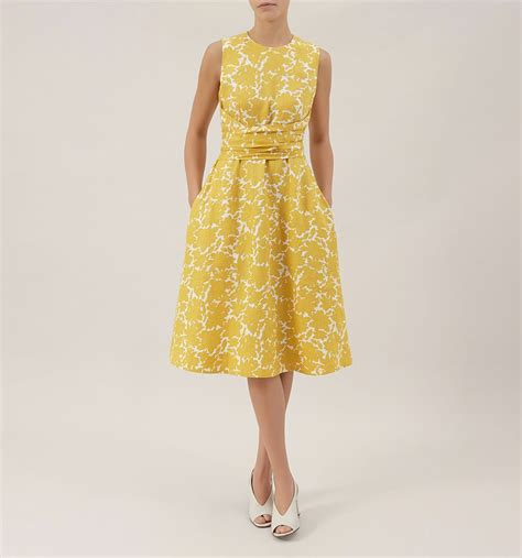 02 Dress Tali Ribbon Yelow yellow twitchill dress casual dresses outlet dresses