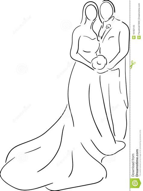 Bride groom stock vector. Illustration of newlywed, icon
