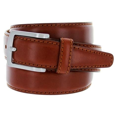 s italian leather dress casual belt 1 3 8 quot wide made