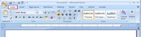 word ribbon layout toolbar drawing pada ms excel 2007 how to construct a