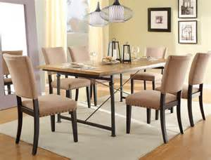 Wrought Iron Dining Room Set by Homelegance Derry 7 Piece Dining Room Set W Wrought Iron