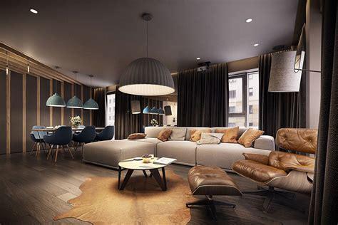 appartamenti moderni stupendo appartamento moderno elegante e drammatico