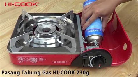 Kompor Gas Portable Backpacking Cing Stove hi cook kompor portabel kc 105 hi cook portable stove kc 105