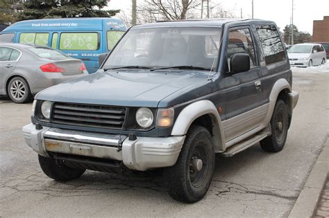 mitsubishi pajero 1992 1992 mitsubishi pajero for sale rightdrive est 2007