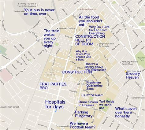 map kentucky farms 30 best images about judgmental maps of college cuses