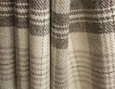fabric draped tartan interiors how to choose the perfect curtain material